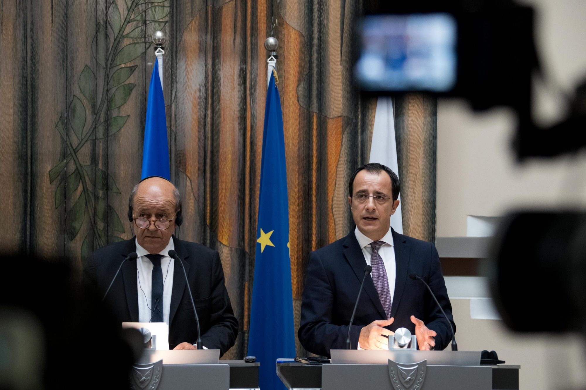 Broadening of the co-operation between Cyprus and France