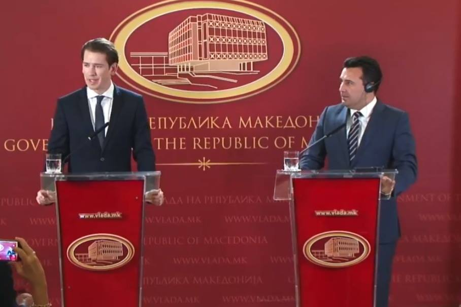 Kurz urges citizens of FYROM to vote in favour of the country's name