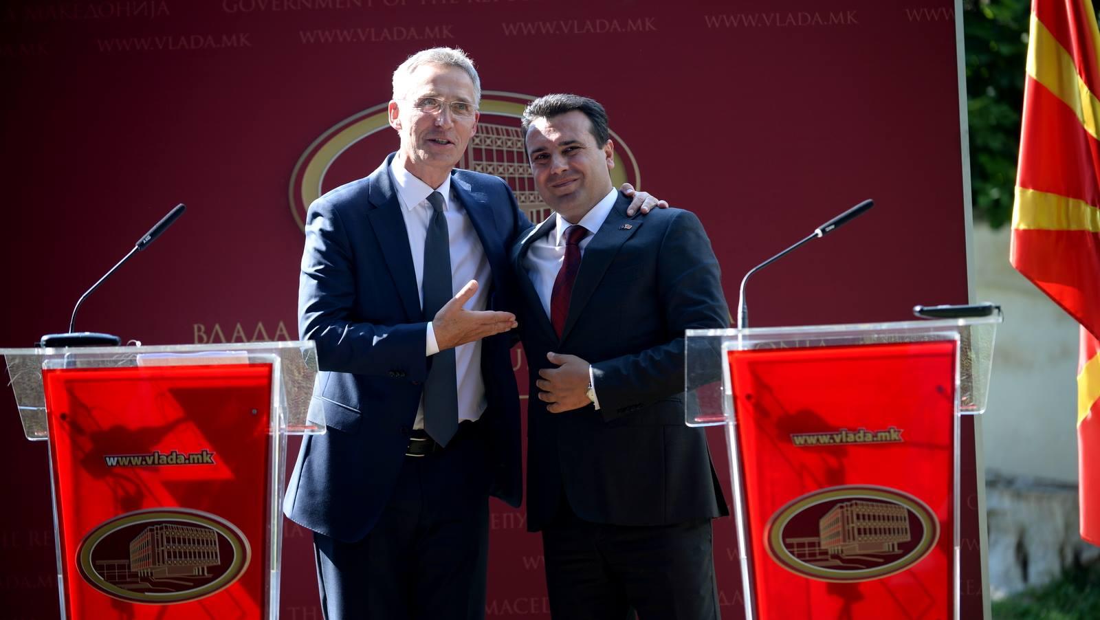 Stoltenberg-Zaev: A successful referendum will guarantee NATO and EU accession