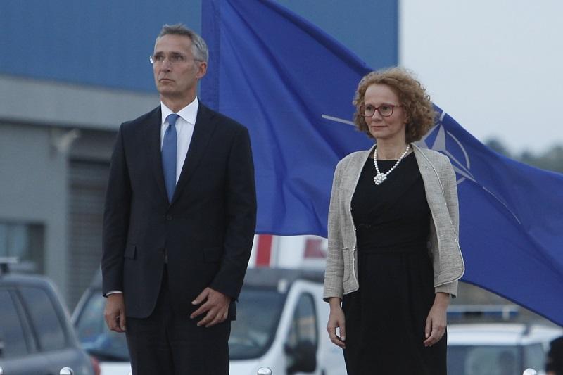 Στα Σκόπια ο Γ.Γ. του ΝΑΤΟ Jens Stoltenberg