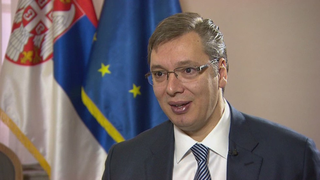 Vucic complains about Pristina's stance ahead of talks