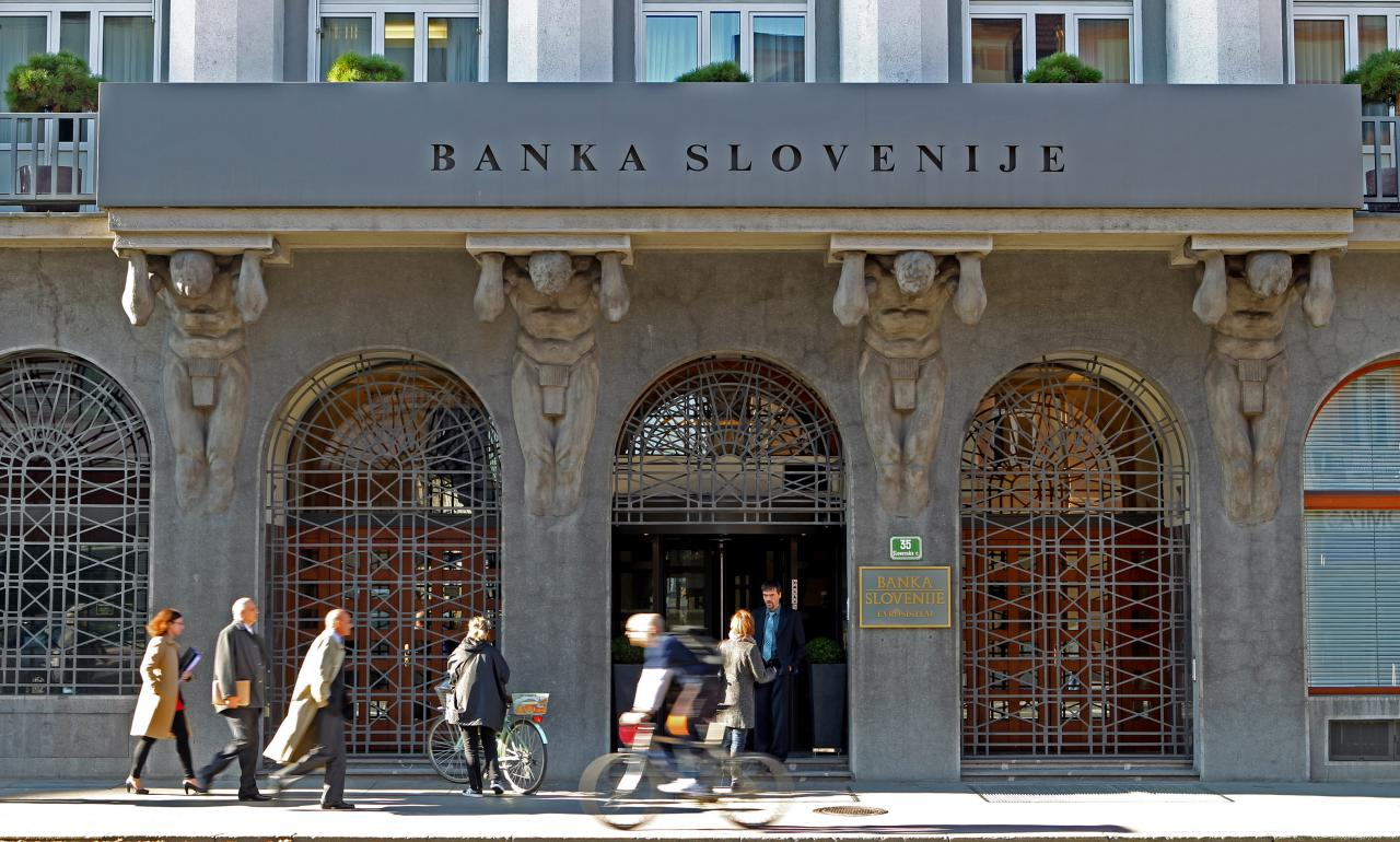 Borut Pahor and the new governor of Slovenia's Central Bank