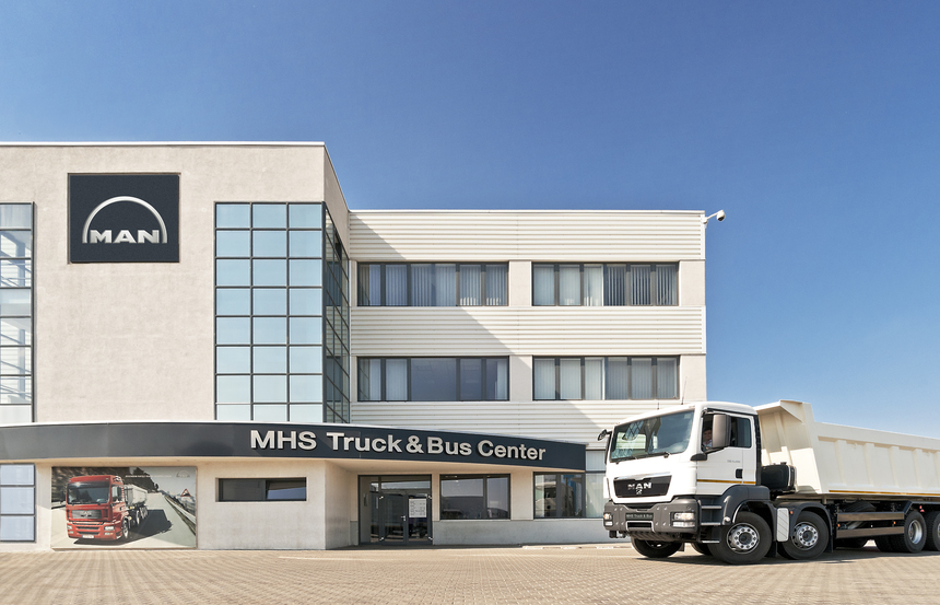 Truck factory Roman-MHS Truck & Bus co-operation for production of military trucks