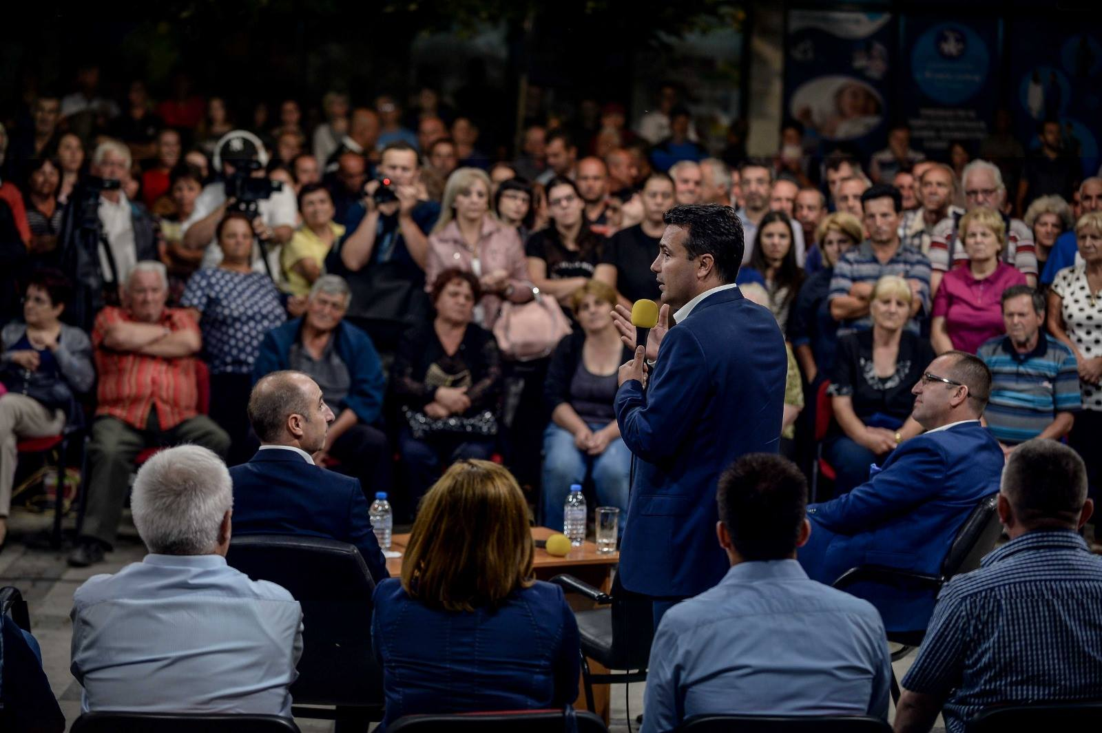 Zaev: Stoltenberg, Merkel and Kurz's visits are a great support for us