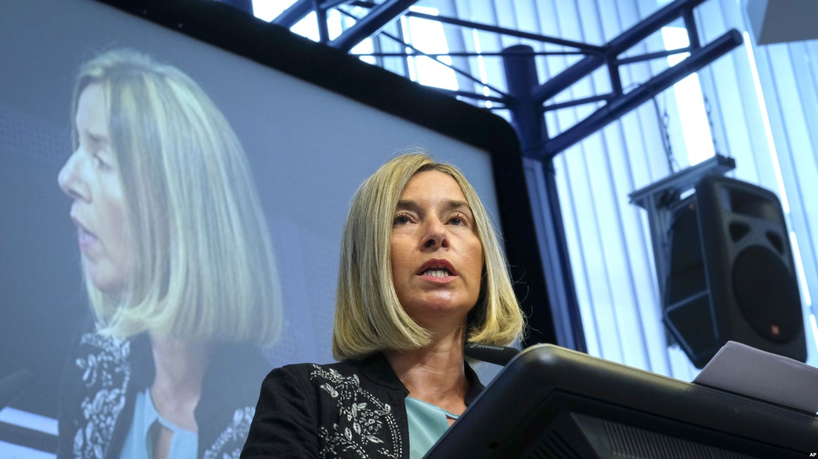 Mogherini is confident about the possibility of a deal between Kosovo and Serbia