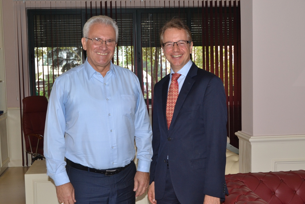 Head of Albanian Election Commission meets the head of the Council of Europe's office in Tirana