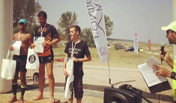 Briton wins foot race along Black Sea coast celebrating EU's freedom of movement
