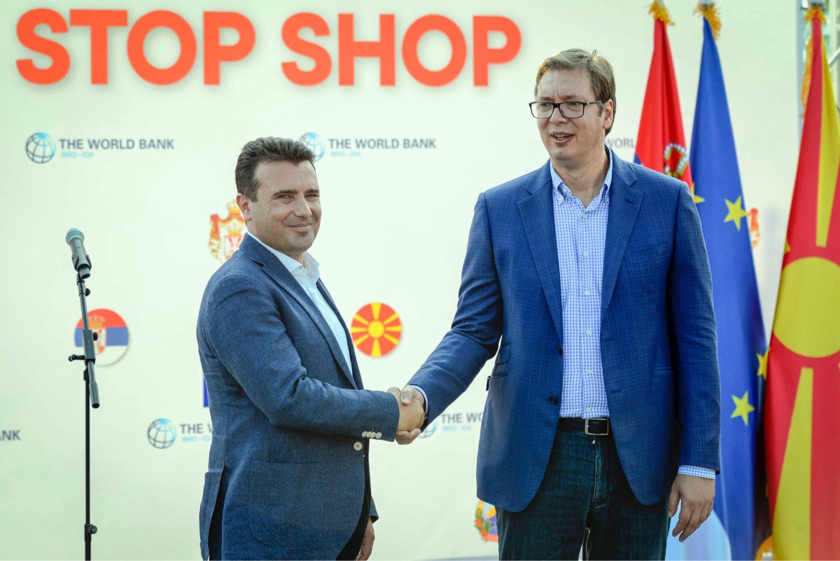 Zaev and Vucic in favour of regional solutions which guarantee stability