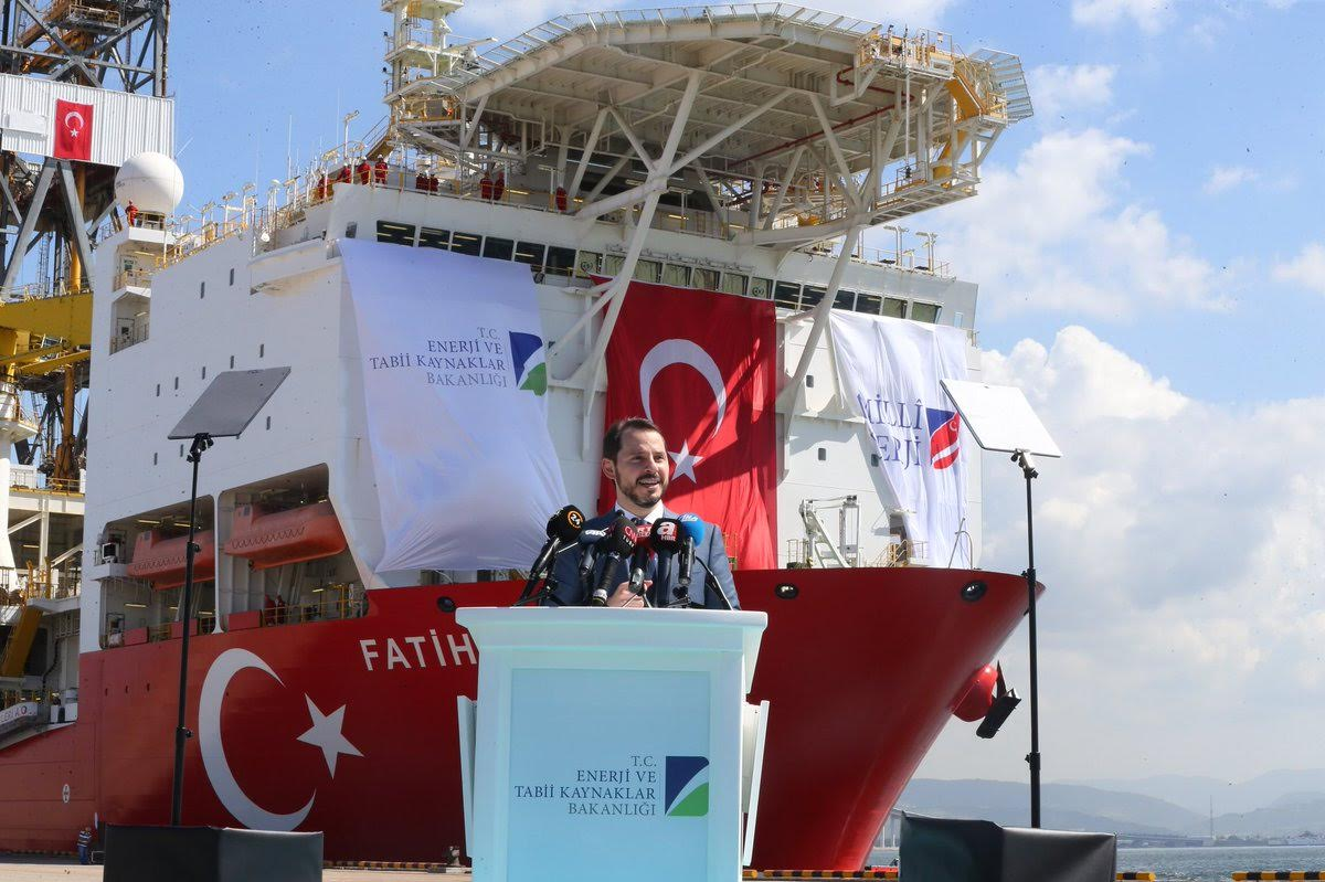 October 31st: First drilling for Turkey in East Med