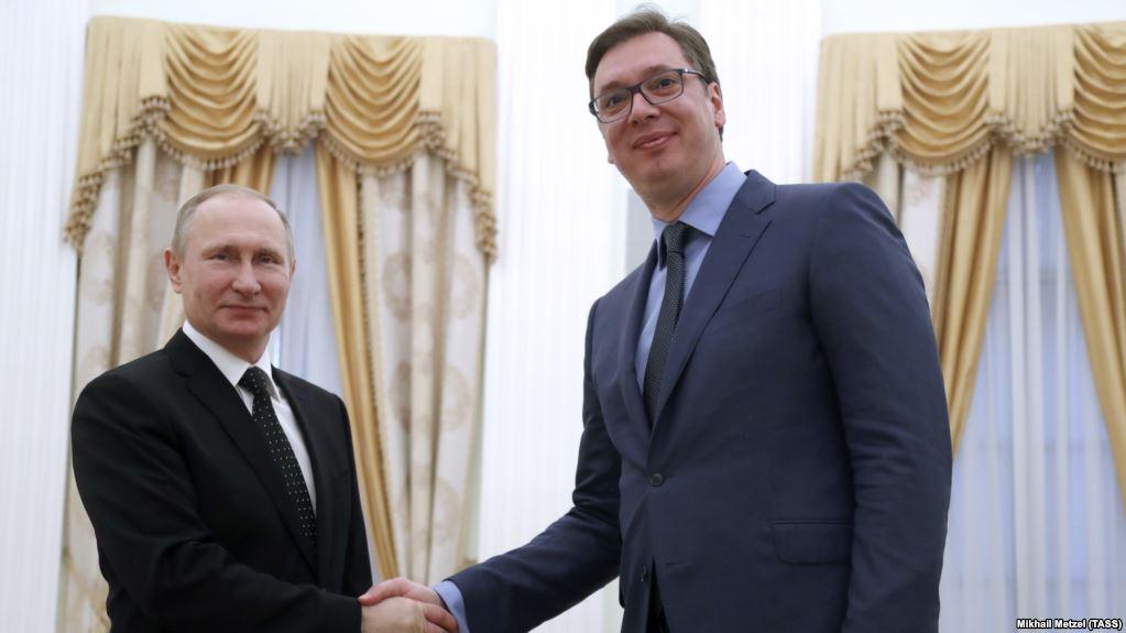 Vucic awarded the prestigious 'Order of Alexander Nevsky' by Putin