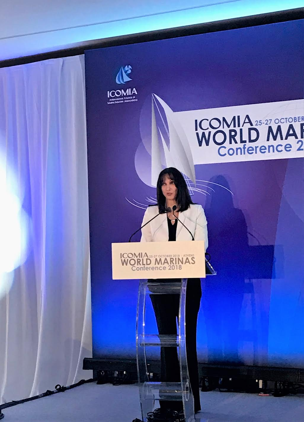 Greece's marinas building strategy at ICOMIA 2018 World Conference