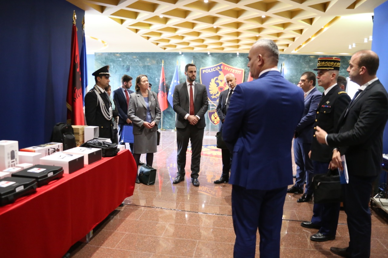 France: Joint investigations with Albanian authorities to fight crime