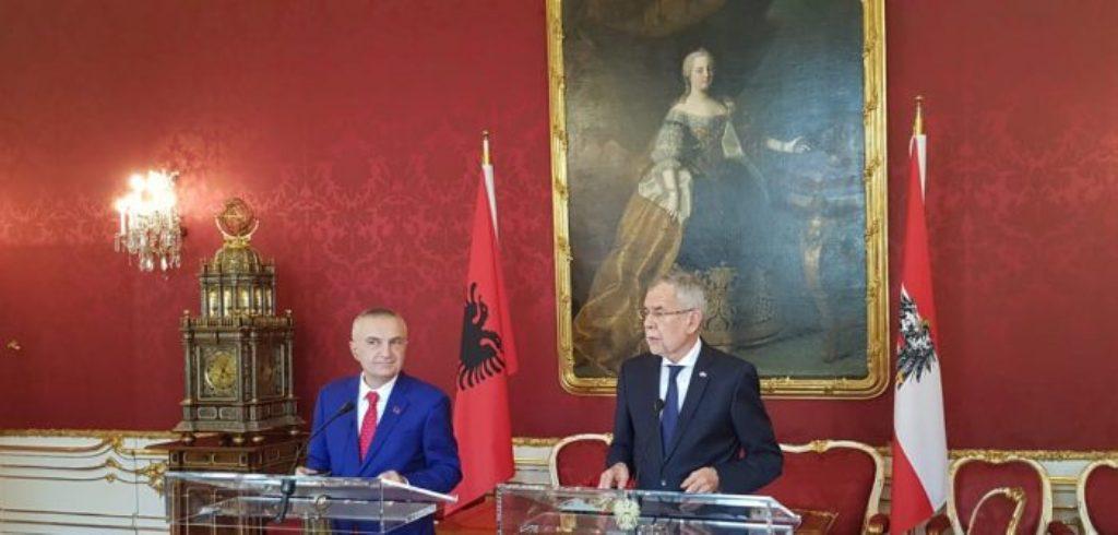 Albanian President in Austria: Balkans countries are closer to NATO and EU