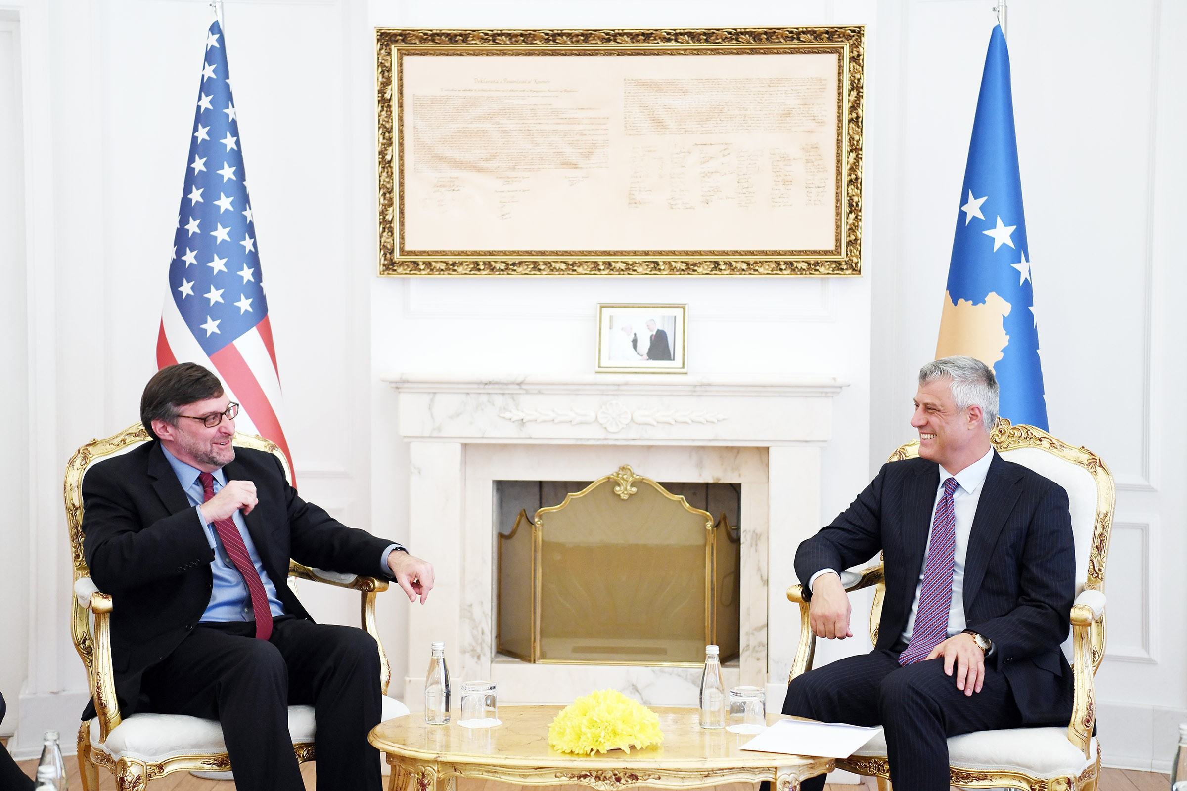 Palmer-Thaci: Time has come for a historic agreement between Pristina and Belgrade