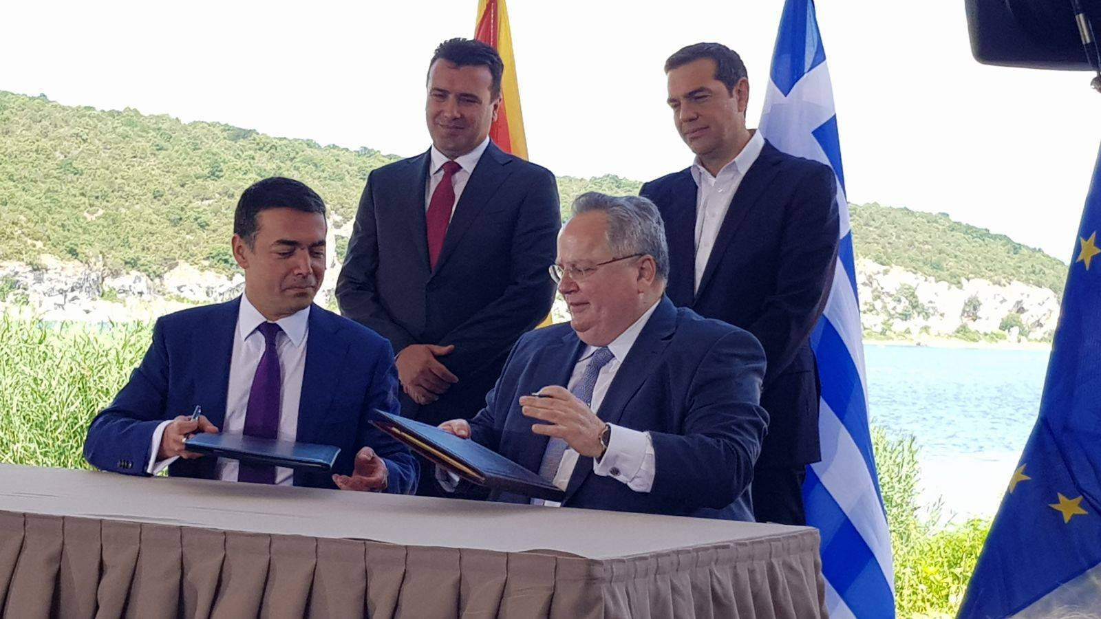 Prespa Agreement putting strain on Greek coalition
