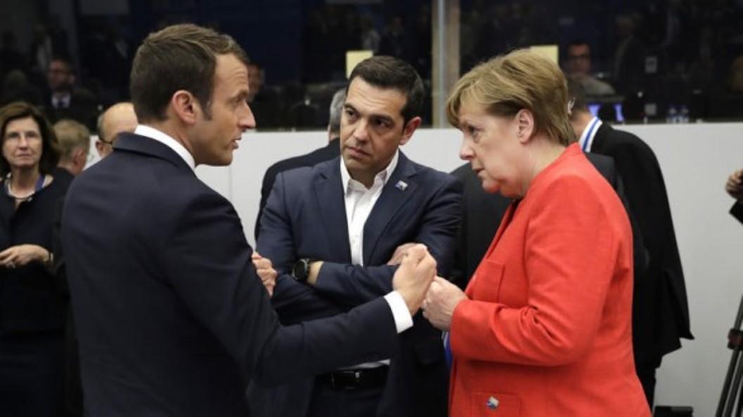 Alexis Tsipras in Paris, on November 11