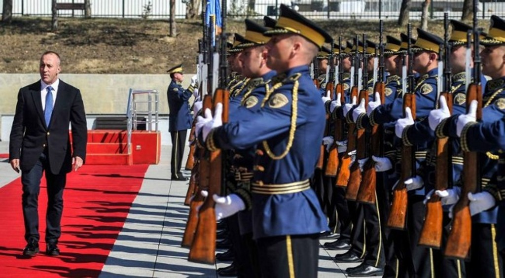 Kosovo's army offers security for all communities, says PM Haradinaj
