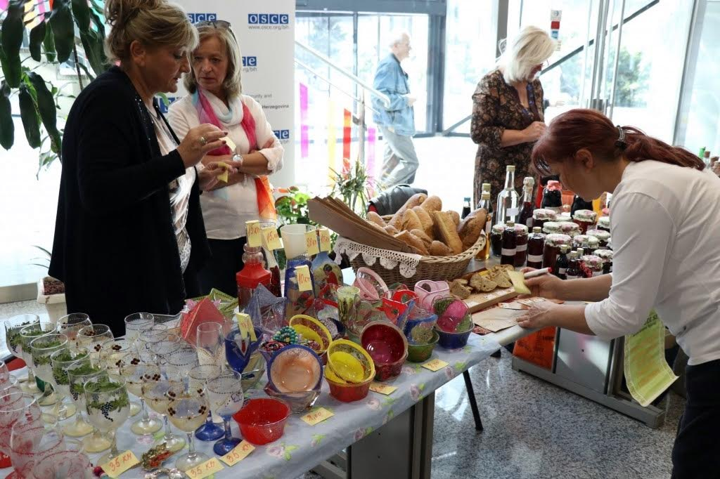 Female presenceatthe Women's Entrepreneurship Fair in Sarajevo