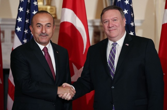 Pompeo's call with Turkish MFA Mevlut Cavusoglu