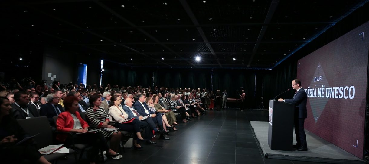 Albanian Foreign minister Bushati praises UNESCO's role