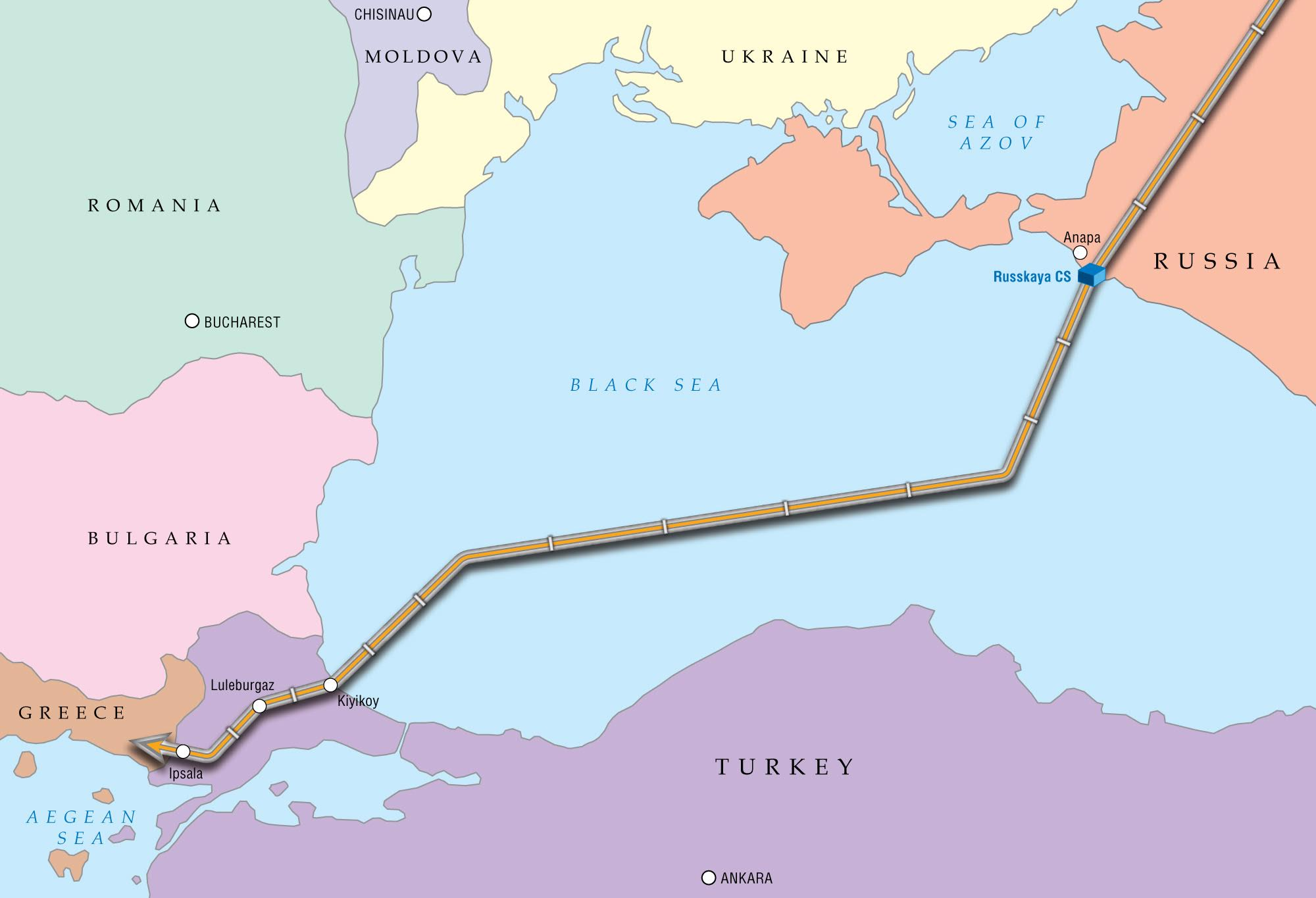 South Stream's 'half brother' to be revived in a year from now