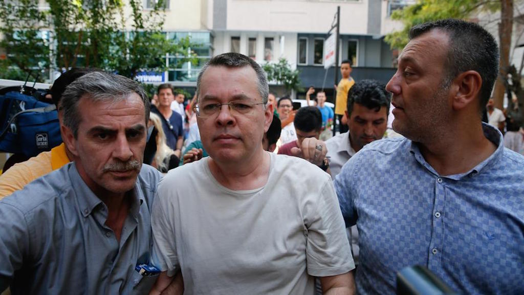 American pastor Brunson appears in court on Friday