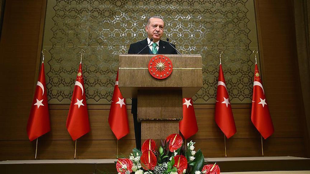 The Turkish president announces his country's new investment programme