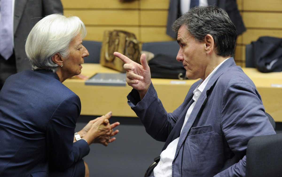 Tsakalotos heading for frank discussion with Lagarde
