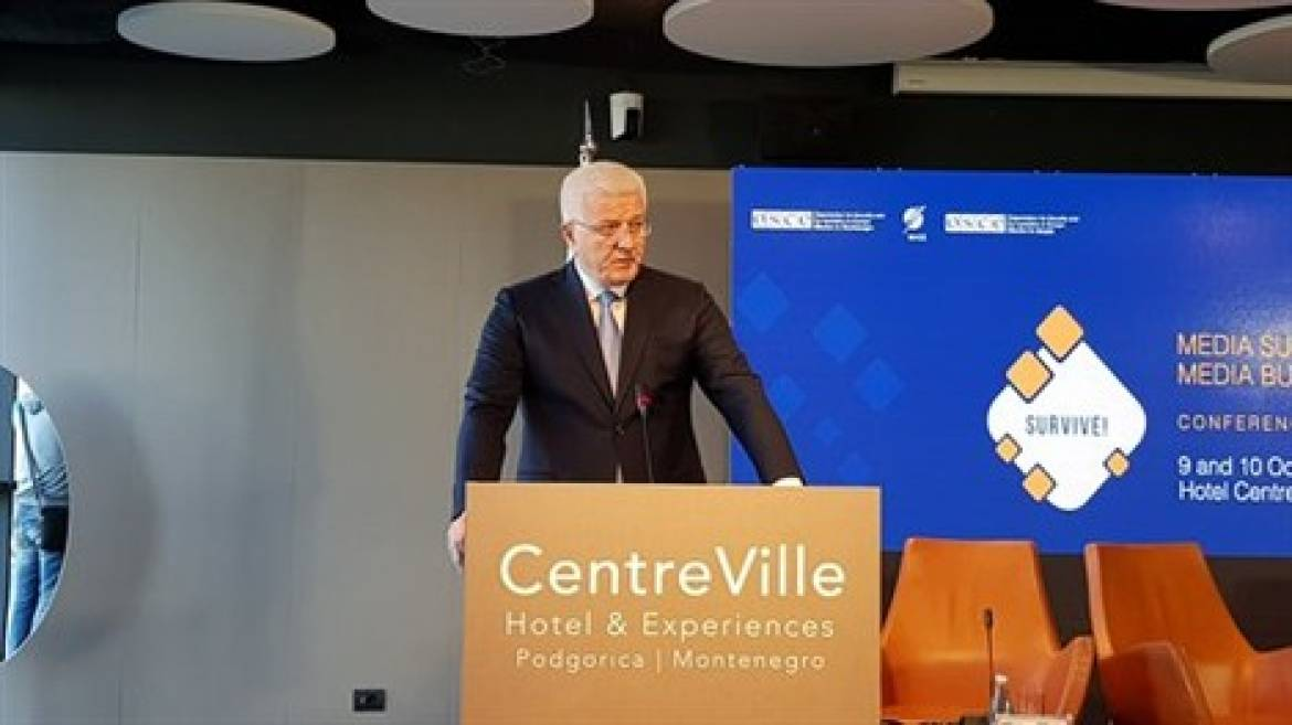 Montenegrin PM: 'Media freedom, safety of journalists…a moral and democratic obligation of Montenegro's authorities'