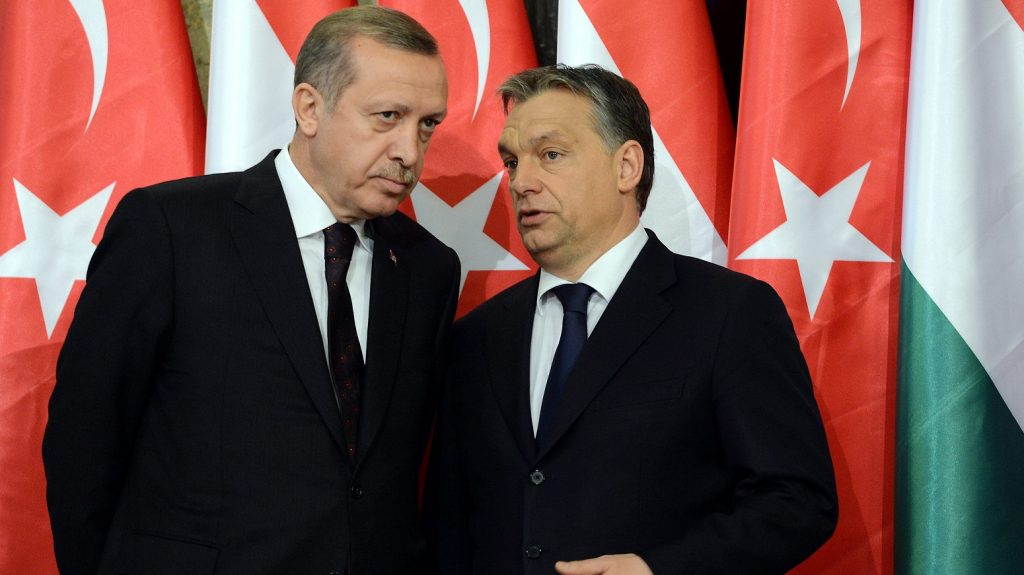 Erdogan on a two-day visit to Hungary
