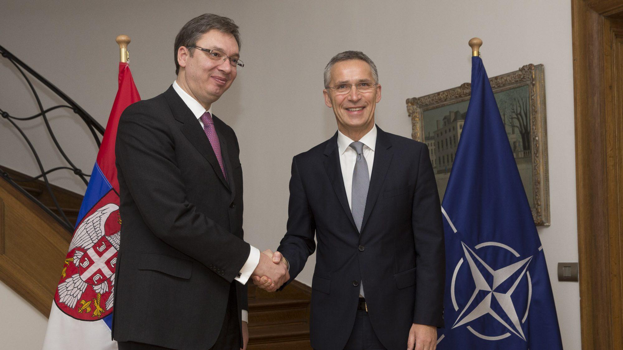 Stoltenberg visitsBelgrade to discuss NATO-Serbia co-operation