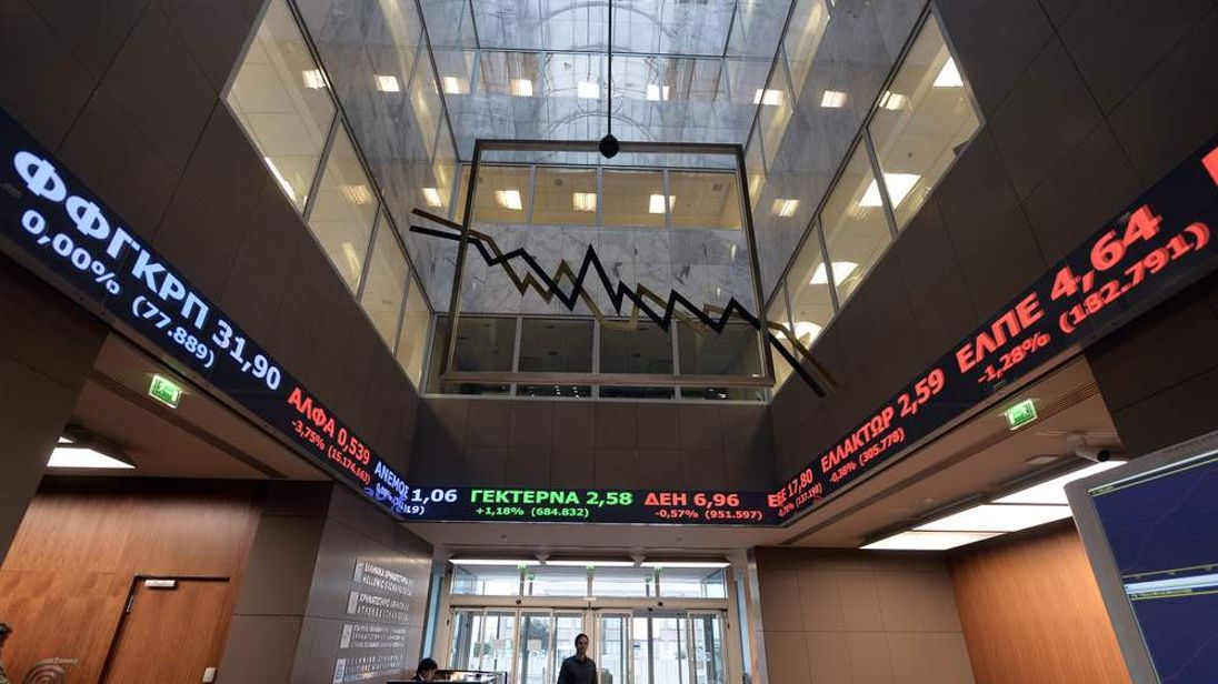 'Black Wednesday' at Athens Stock Exchange as bank index slides