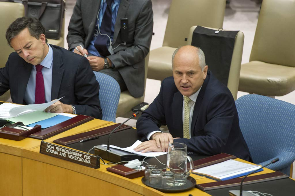 Απογοητευμένος δηλώνει ο Ίνζκo από την προεκλογική εκστρατεία στη Βοσνία-Ερζεγοβίνη