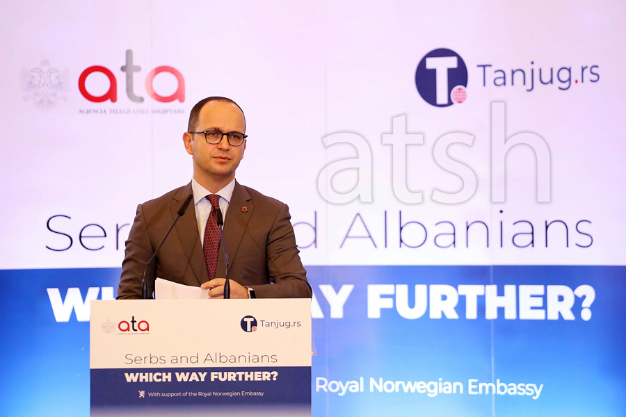 Relations between Albania and Serbia have great potential, says Albanian Foreign minister Bushati