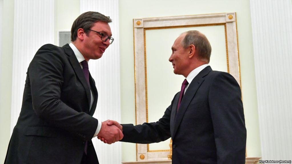 Vucic from Moscow: 'Putin gave me everything I asked for'