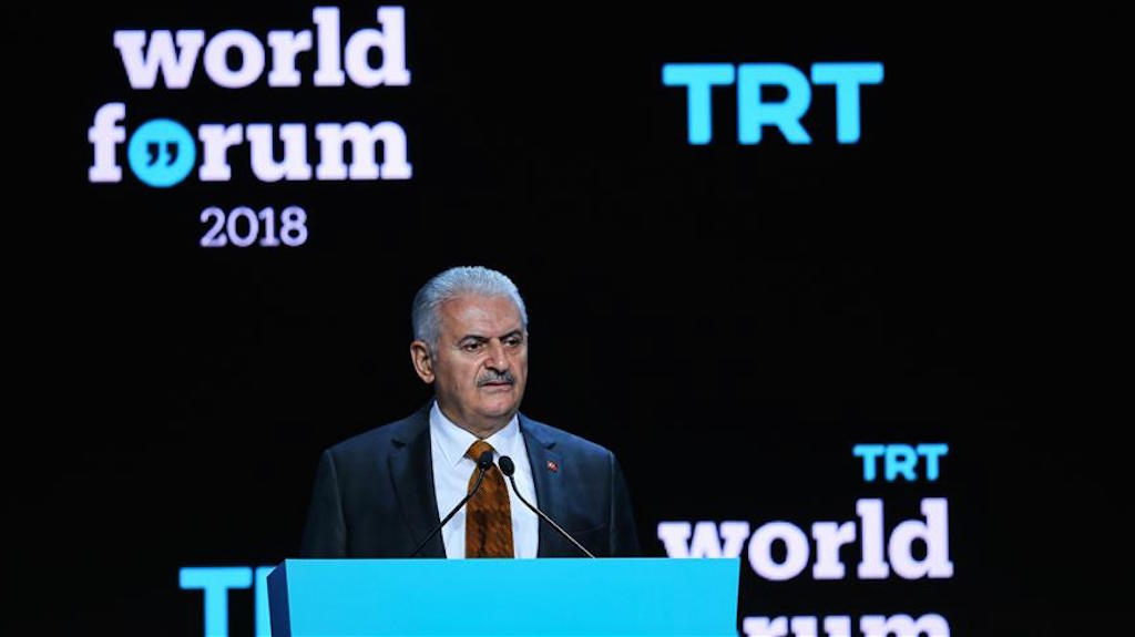 Binali Yildirim: 'Terrorists should not be financed by any means'