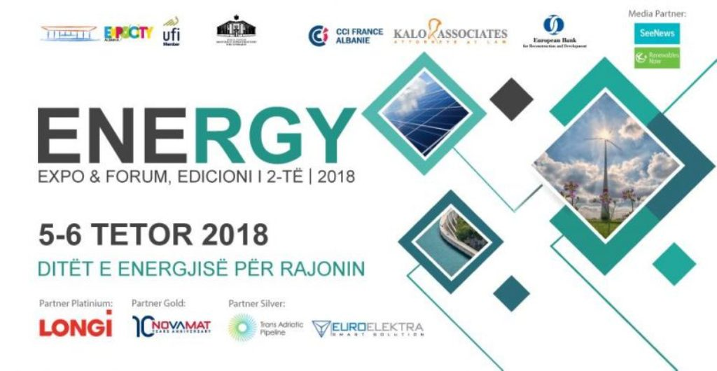 Tirana to host the 2018 Energy Expo for the region