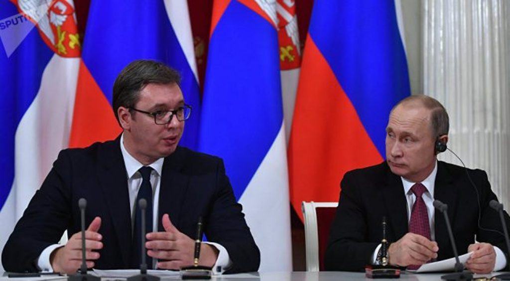 Vucic to meet Putin in Russia, Kosovo will be among topics of discussions