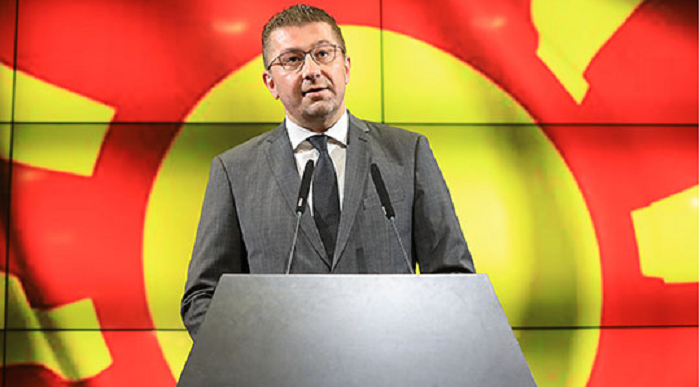 FYROM: VMRO-DPMNE leader Mickoski offers two options to prevent political crisis