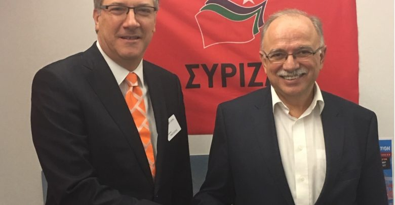 Papadimoulis-Zernovski meet in Brussels