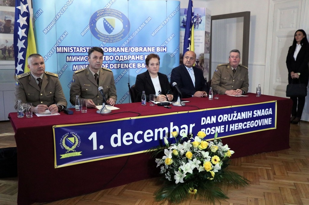 BiH Armed Forces affirmed as a factor of peace and stability
