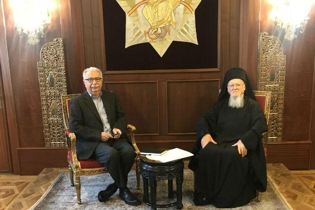 Greek Education Minister in Fanar to discuss the State-Church relations