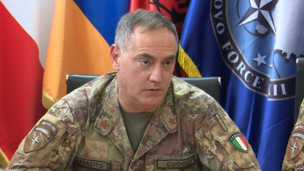 KFOR calls for calm in Kosovo