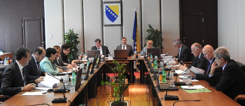 "BiH Council of Ministers puts countermeasures ""on hold"""