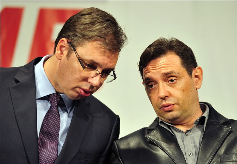Vucic criticizes Montenegro and fYROM