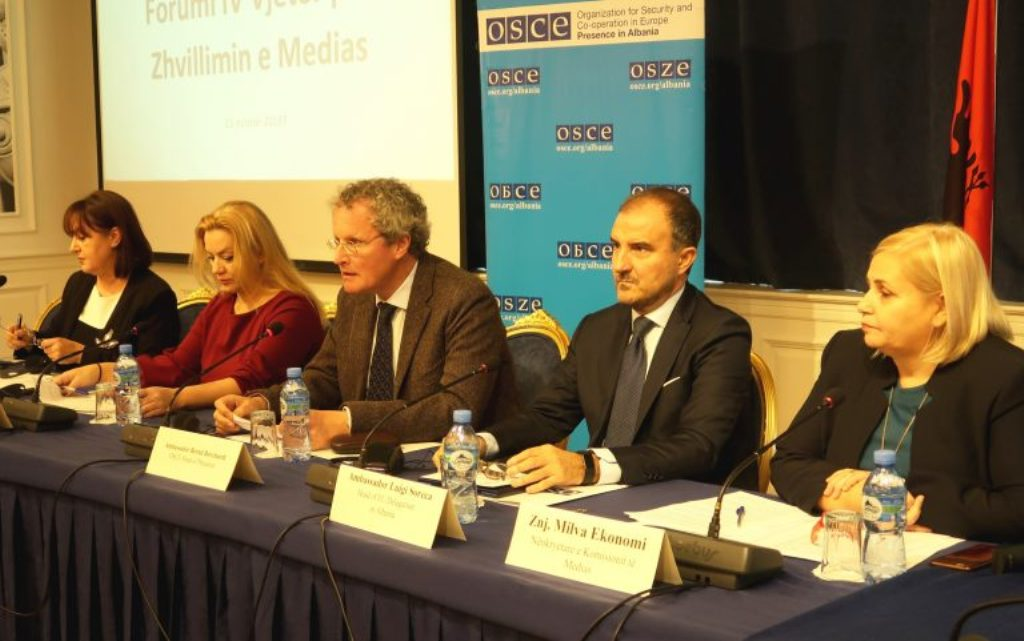OSCE in favour of the anti-defamation law