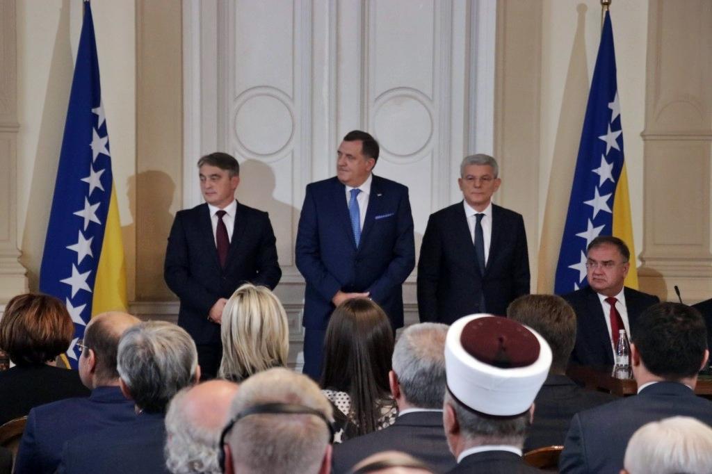 Η Βοσνία και Ερζεγοβίνη έχει νέα Προεδρία