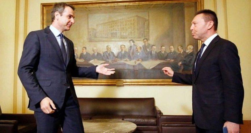 Mitsotakis, Stournaras discuss plans to address bad loans