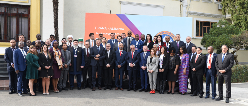 International Parliament for Tolerance and Peace convenes in Albania