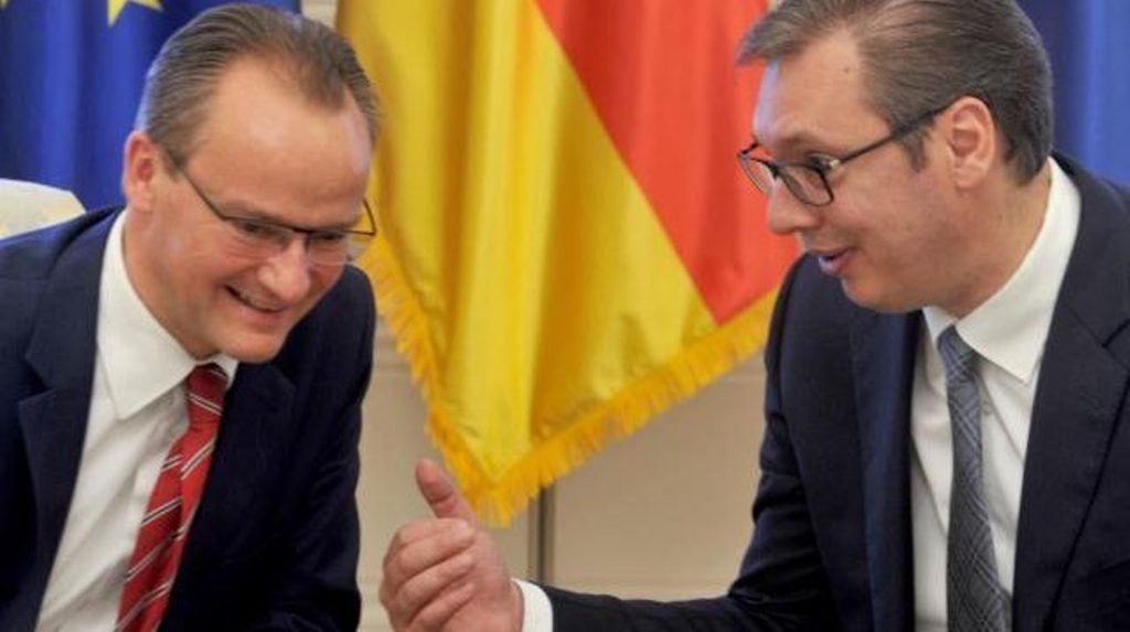 Germany is reserved about the idea of border correction between Kosovo and Serbia